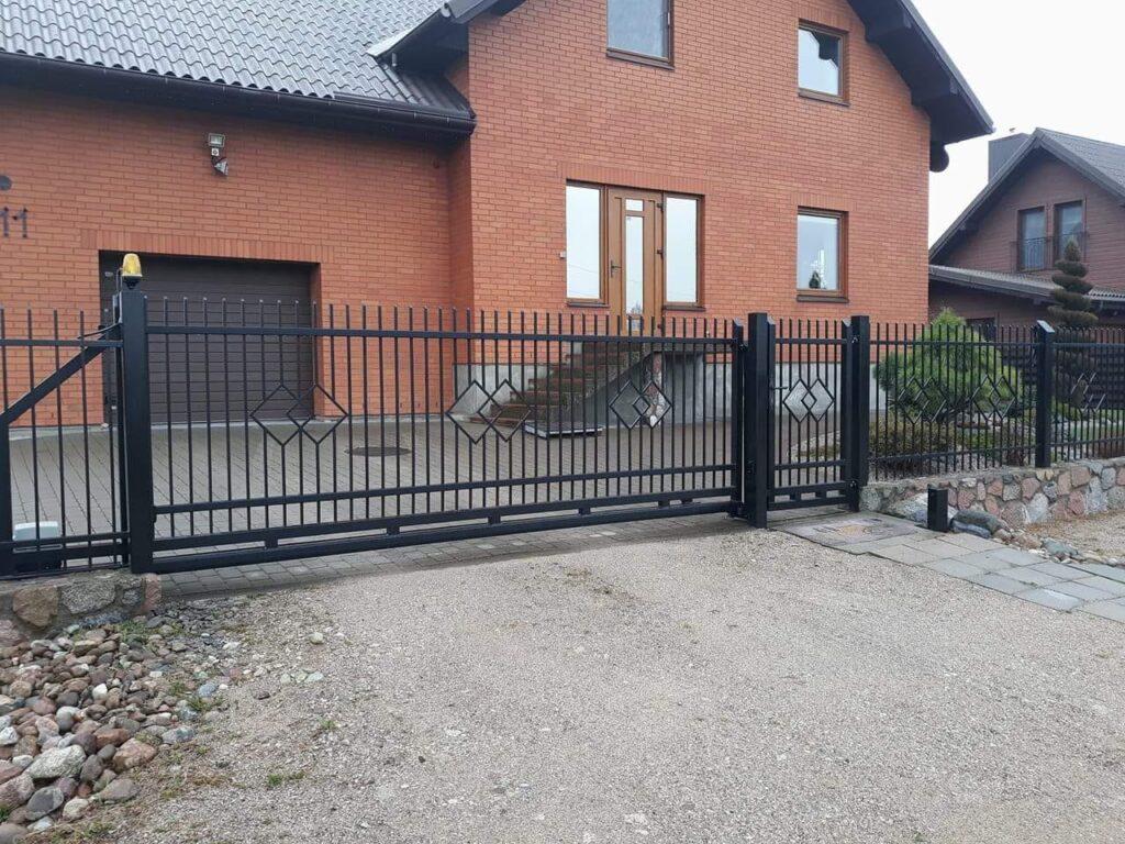 slankiojantys vartai
